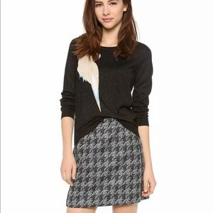 Marc Jacobs Terence Houndstooth Mini Skirt